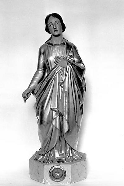Statuette-reliquaire : sainte Philomène