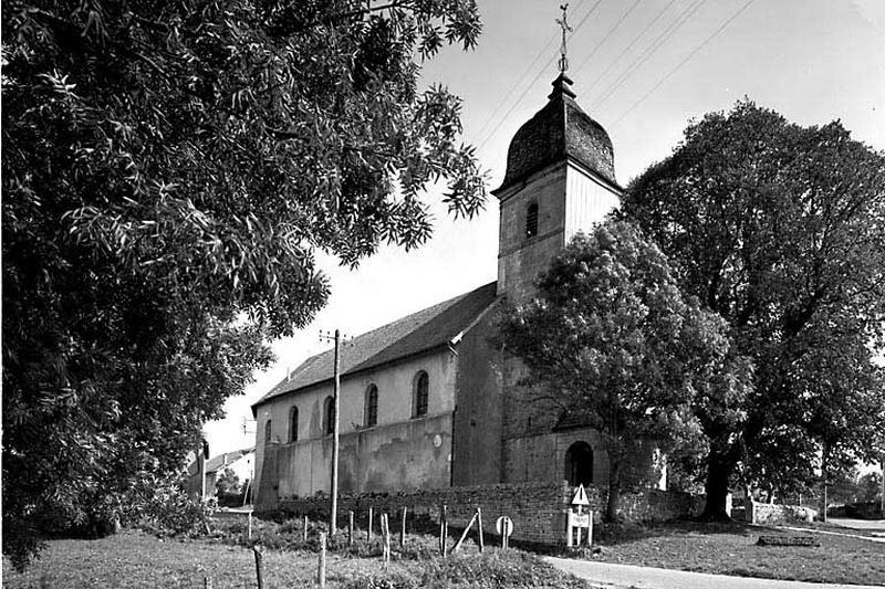 église paroissiale Saint-Ferréol et Saint-Ferjeux