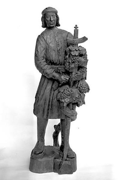 statue : saint Vernier