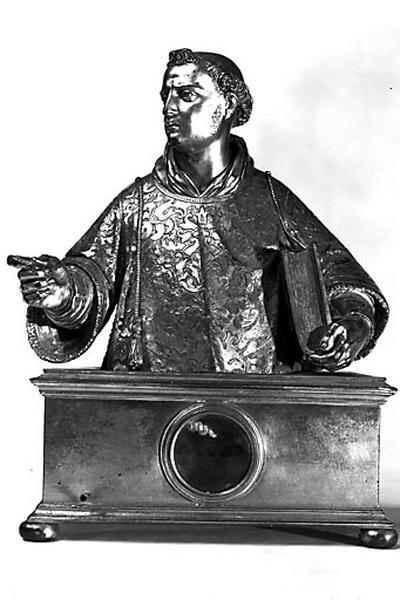 Buste-reliquaire : saint Laurent