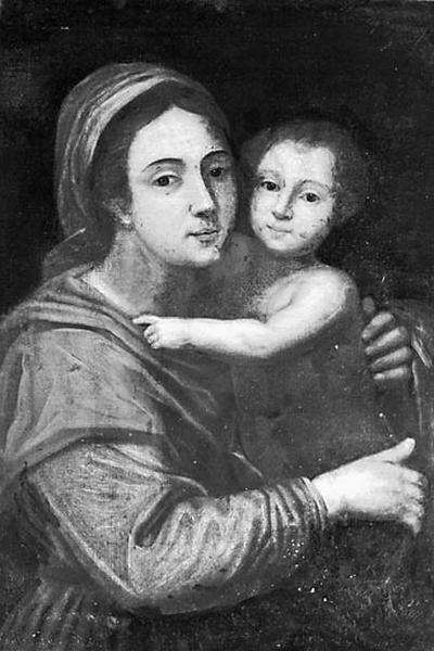 Tableau et son cadre : Vierge à l'Enfant dite Notre-Dame des Jacobins