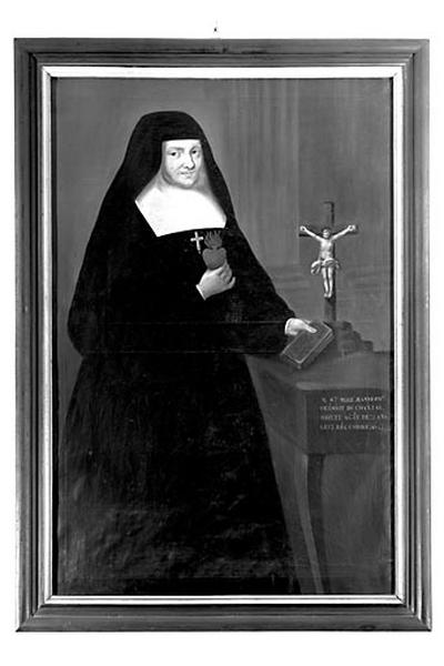 Tableau : sainte Jeanne-Françoise Frémyot de Chantal