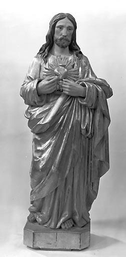 Statue : le Sacré-Coeur