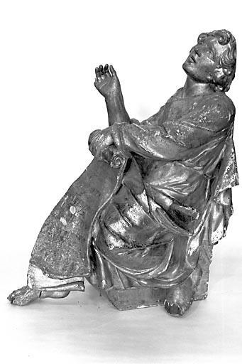 Statuette : saint Jean