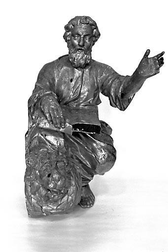Statuette : saint Marc