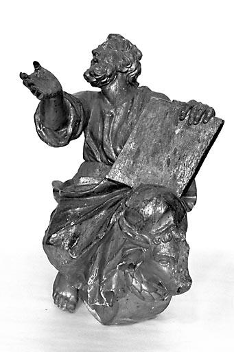 Statuette : saint Luc