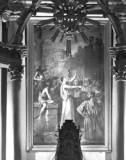 Tableau : le Martyre de saint Symphorien