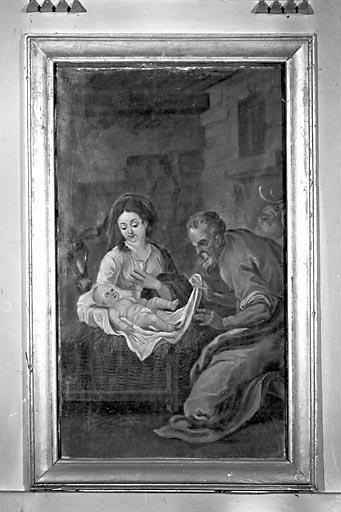 Tableau : la Nativité