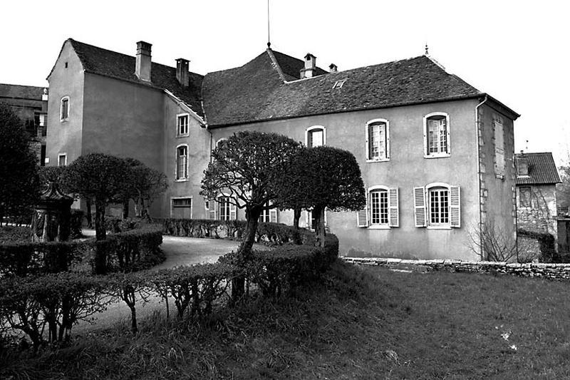 hôtel Guyot de Vercia, actuellement presbytère