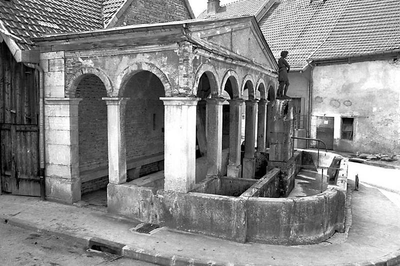 fontaine, lavoir du Seult