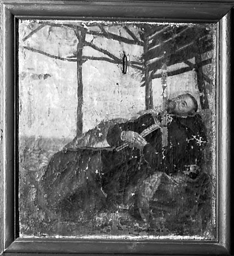 Tableau : la Mort de saint François Xavier