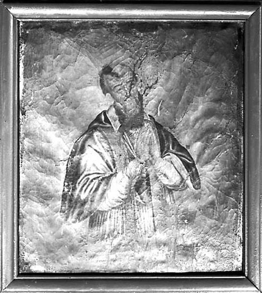 Tableau : saint François de Sales (?)