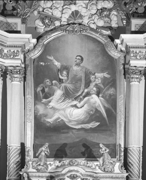 Tableau : saint Valère (?)