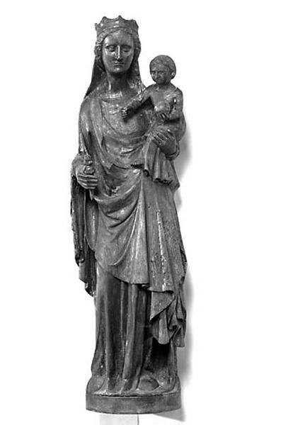 Statue : Vierge à l'Enfant dite Notre-Dame des forges