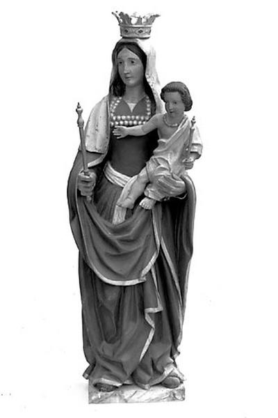 statue : Vierge à l'Enfant dite Notre-Dame