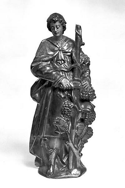 2 statuettes : saint Gengoulph et saint Vernier