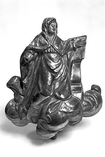 2 statuettes : Vierge et Ange de l'Annonciation