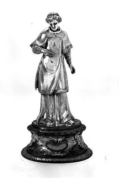 Statuette-reliquaire : saint Laurent