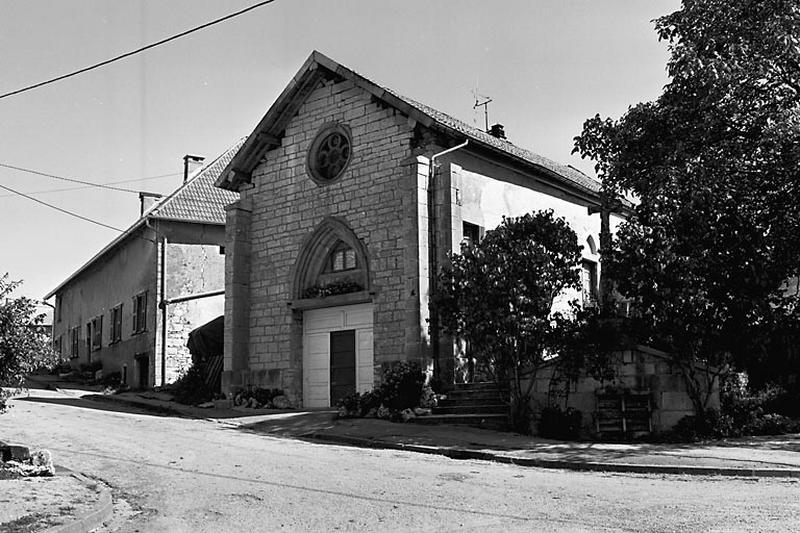 chapelle, actuellement maison