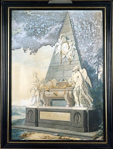 Monument funéraire de Charles-Ferdinand-François de La Baume Montrevel