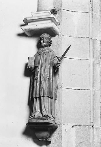 Statue : saint Ferréol