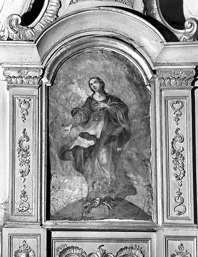 Maître-autel, tabernacle et retable