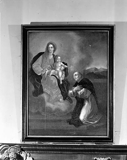 Tableau : Vierge à l'Enfant et saint Dominique