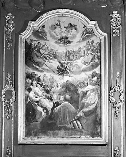 Tableau : la Résurrection des saints