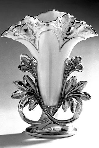 2e ensemble de 2 vases à fleurs