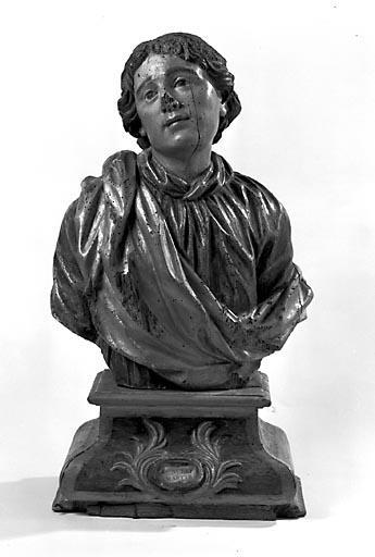 Buste-reliquaire : saint Aurélien