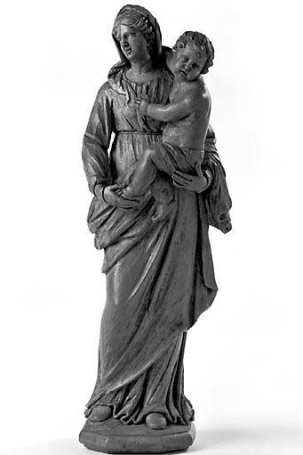 Statuette : Vierge à l'Enfant (n° 2)