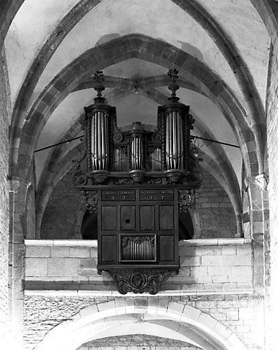 Buffet et partie instrumentale du grand orgue