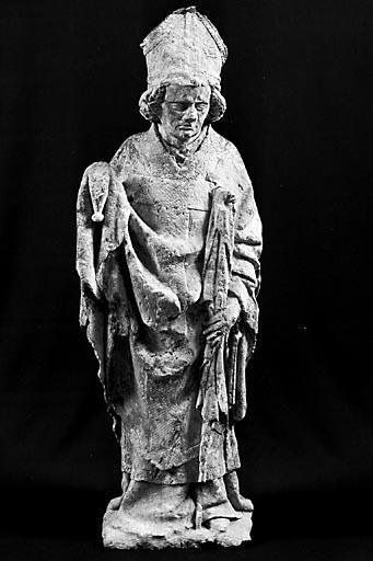 Statuette : saint Nicolas (?)