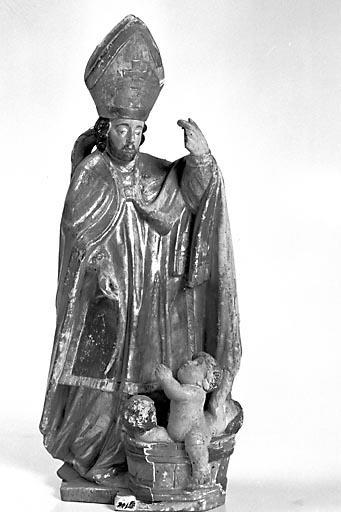 Statuette : saint Nicolas