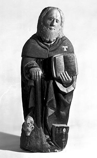 Statuette : saint Antoine