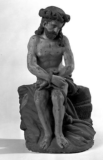 Statuette : Christ aux liens