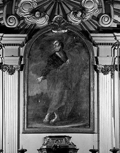 Tableau : saint Barthélémy