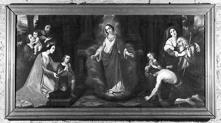 Tableau : Vierge consolatrice des affligés (?)