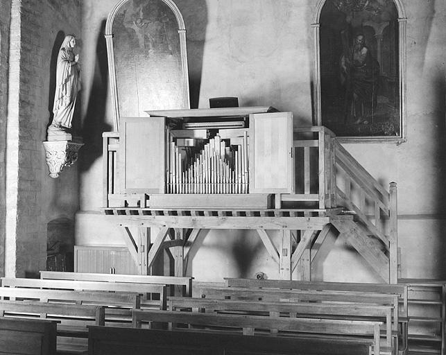 Le mobilier du prieuré Saint-Lupicin, église paroissiale de la Nativité-de-la-Vierge (liste supplémentaire)