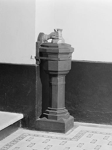 ensemble de 2 troncs de synagogue