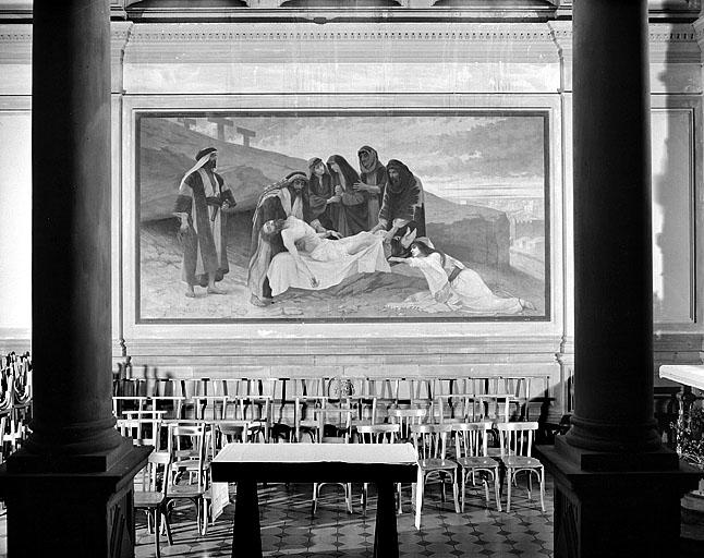 Peinture monumentale : la Déploration