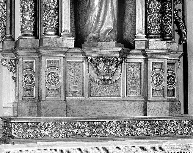 Retable de l'autel de saint Joseph