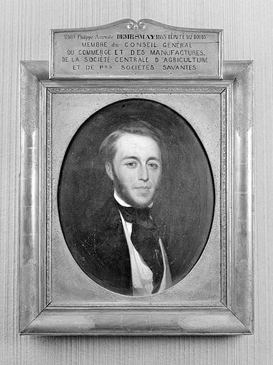 Tableau : portrait de Philippe-Auguste Démesmay