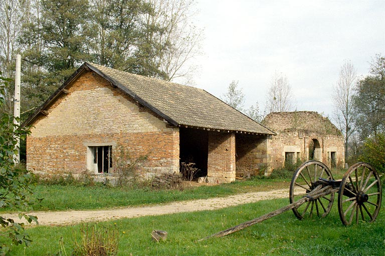 moulin à blé, scierie, actuellement maison