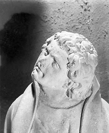 Groupe sculpté : calvaire