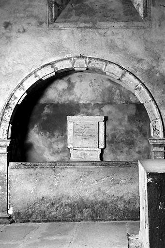 monument funéraire de Jean de Watteville