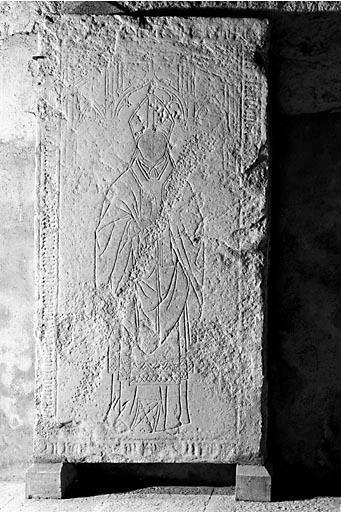 Dalle funéraire de Louis de Chassal