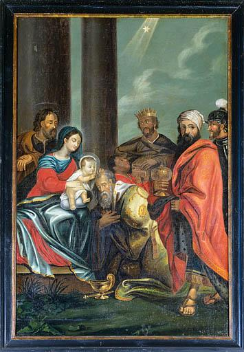 tableau : l'Adoration des Mages n° 2