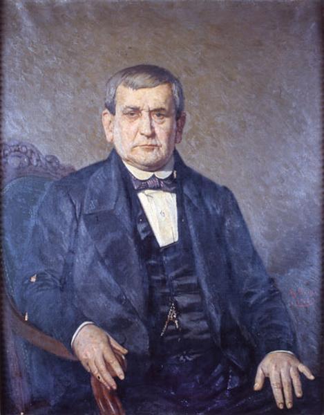tableau : portrait de Pierre-Hyacinthe Lamy