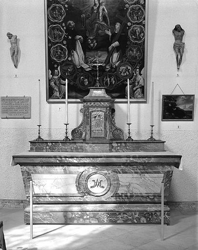autel, tabernacle n° 2